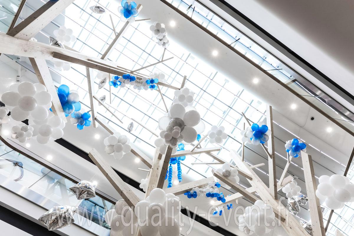 Décor ballon - Animation artistique centre commerciaux