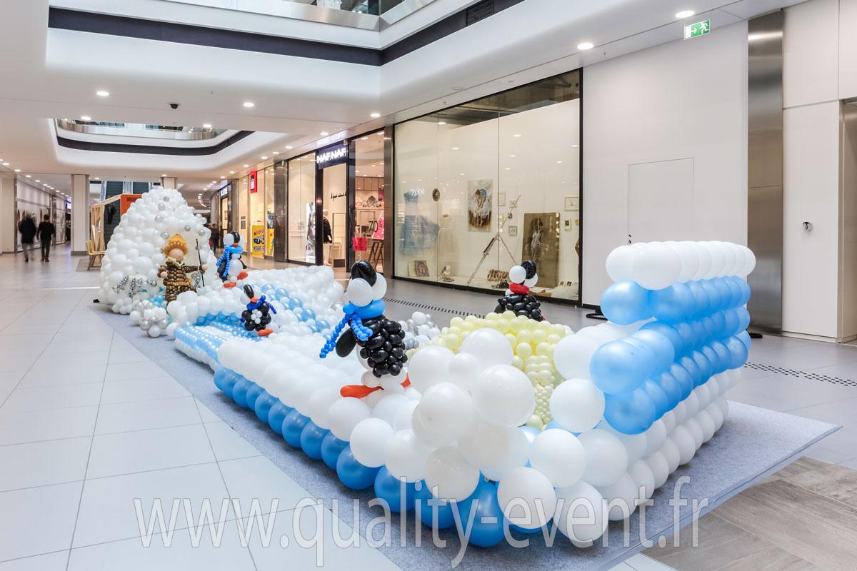 Pau (64) Décoration ballon hélium